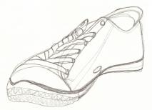 SKETCH_Shoe